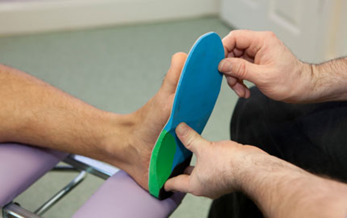 That Foot Shop Orthotics fitting